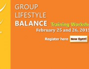 REGISTRATION EXTENDED TILL MARCH 1ST!  Register now for an upcoming DPP Group Lifestyle Balance™ training workshop!